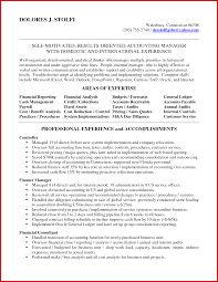 Awesome Accounting Supervisor Resume Wing Scuisine
