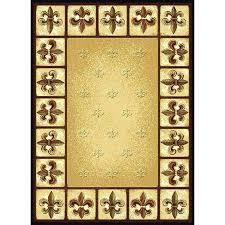 fleur de lis bathroom rugs rug to view larger black frericks burg charming area with fleur de lis rugs