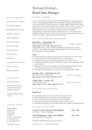Sample Resume For Sales Manager Resume Samples For Sales Manager ...