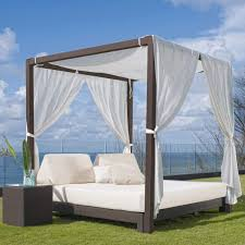 Canopy Outdoor Daybed & Table - Shop Comfortable Outdoor Furniture ...