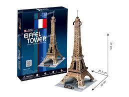 Puzzle 3d Eiffelova Věž 35 Dílků