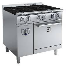 gas kitchen stove. Electrolux ACFG36TW 6 Burner Compact Gas Oven Range Kitchen Stove