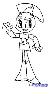 Small Picture Girl Robot Coloring Pages Coloring Pages