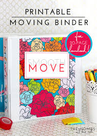 Printable Spreadsheets Printable Smooth Move Binder Kit With Excel Spreadsheet To Do