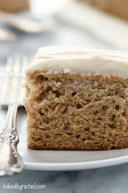 Baked By Rachel Banana Cake With Cinnamon Brown Sugar Cream Cheese