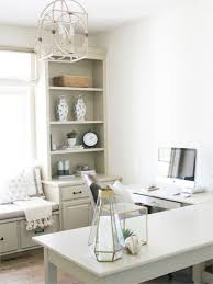 desk for office design. Delighful Design Cozy Office Design With L Shaped Desk And Window Seat  Bria Hammel  Interiors To Desk For Office Design O
