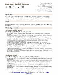 Professional Strengths Resume Secondary English Teacher Resume Samples Qwikresume