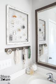 Diy Rustic Frame Diy Rustic Industrial Jewelry Organizer Blesser House