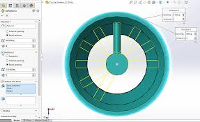 Circular Pattern Solidworks Classy SOLIDWORKS 48 Bidirectional Circular Pattern