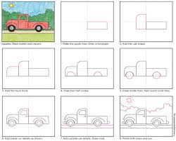 Design Your Own Truck For Fun How To Draw A Simple Truck Art Projects For Kids