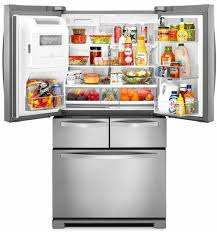 dual ice maker refrigerator. Double Drawer Refrigerator With Dual Icemakers - Monochromatic Stainless Steel Ice Maker F
