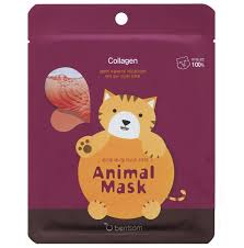 «<b>Маска тканевая с морским</b> коллагеном Animal Mask Ceries CAT ...
