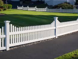 vinyl fence styles. Simple Vinyl 5 Popular Vinyl Fence Styles 1 Picket On Styles