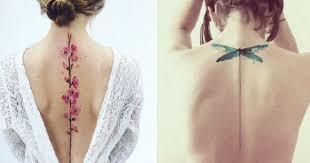 Top 15 Tetování Podél Páteře Ze Kterých Nespustíte Oči Evropa 2