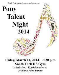 South Fork School District 14 South Fork Has Talent