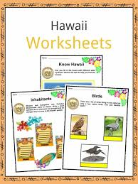 Hawaii Facts, Worksheets & State Historical Information For Kids