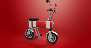 Mini motorbike makes for a fun, <b>fashionable</b> and clean <b>commute</b>