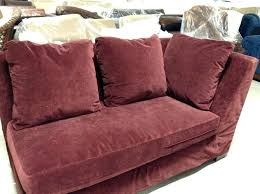 deep leather couch deep sofa with chaise details about pottery barn pacific deep sofa chair sectional