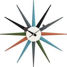 ottostyle jp george nelson sunburst clock ripurodakuto designer furniture mu ems