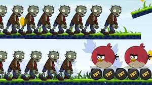 Angry Birds Fry Zombies - BURN ALL THE ZOMBIES BY FORCING TNT BOMB! -  YouTube