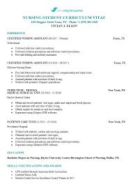 Examples Of Nursing Resumes Nursing Resume Devmyresume Com