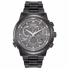 mens atomic watch citizen eco drive men s at4117 56h nighthawk a t atomic chronograph 44mm watch