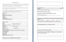 evaluation form templates business evaluation form barca fontanacountryinn com