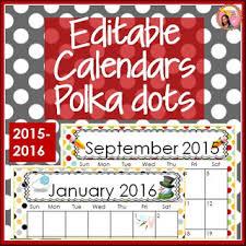 Fillable Calendars 2015 Nylas Crafty Teaching Editable School Calendars For 2016
