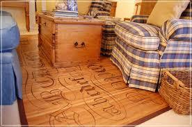 bamboo area rug over carpet