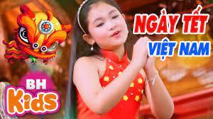 Ngày Tết Việt Nam - Châu Kỳ Anh ♫ Nhạc Tết Thiếu Nhi 2019 - YouTube