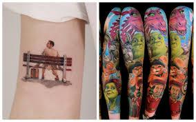 Galerie 21 úžasných Tetování Ze Známých Filmů Až Je Uvidíte