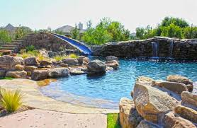 home swimming pools with slides. Fine Pools Swimming Pool Designs With Slides 15 Gorgeous Home  Design Lover Creative For Pools
