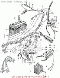 honda ca160 touring 1966 usa wire harness battery ca160 wire harness battery ca160 schematic