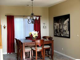 red dining room curtains. impressive red dining room curtains with curtain ideas like the idea but not g