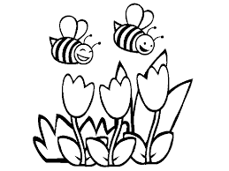 Small Picture Happy Bumble Bee Colouring Pages Gekimoe 53362