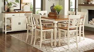 Hillside Cottage White 5 Pc Counter Height Dining Room Dining Room