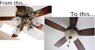 install light fixture on ceiling fan changing a ceiling fan to a light fixture 2018 ceiling fan with light