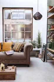 Klassieke Woonkamer Met Retro Meubels Classic Living Room With
