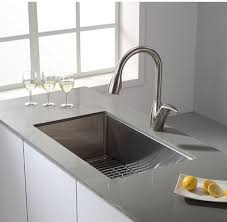 kraus khu100 30. Kraus KHU100-30 30 Inch Undermount Single Bowl 16 Gauge Stainless Steel Kitchen Sink DIRECT Khu100