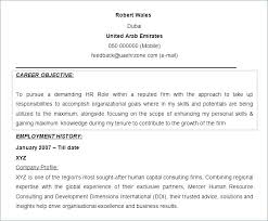 Personal Objective Resume How To Write Good Objective For A Resume