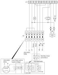 i48 3136 017 gif connect electrical supply to the harness plug socket see fig 8 wiring diagram mains input cable should be connected to the mains supply as detailed
