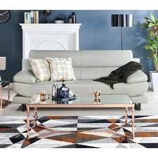 furniture of glam rose gold coffee table decor