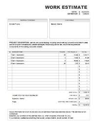 price estimate template download free job estimate templates in pdf excel and word formats