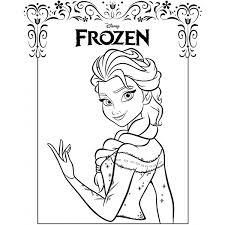 29 Disegni Frozen Da Colorare E Stampare
