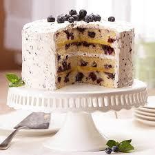 Blueberry Lemon Cake Recipe Land Olakes