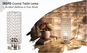 uplight table lamp beautiful zeefo crystal table lamp