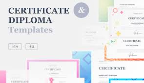 Google Slide Certificate Template