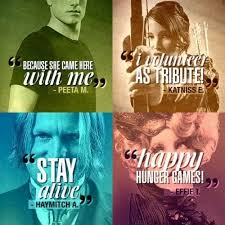 Hunger Game Quotes Extraordinary Quotes About The Hunger Games 48 Quotes