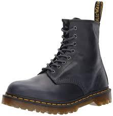 com dr martens men s 1460 navy orleans leather fashion boot boots