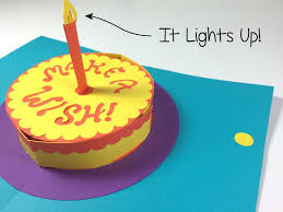 Diy Light Up Greeting Card Make Your Own Light Up Pop Up Greeting Cards With These